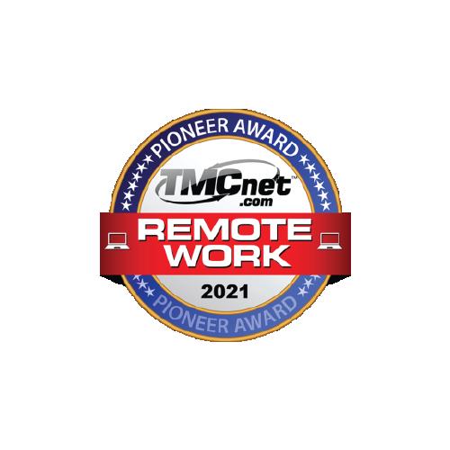 2021 TMCnet Remote Work Pioneer Award