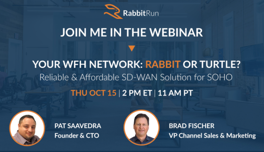 WFH Network: Rabbit or Turtle?